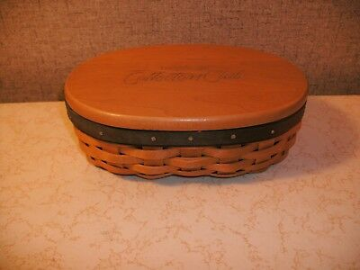 Longaberger Collector Club Harmony Basket W/protector