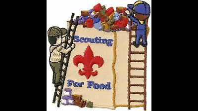 Cub Boy Scout 2017 Scouting For Food Official Licensed Collectors Emblem Patch