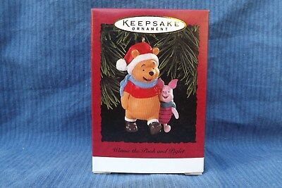 Hallmark Ornament 1996 Disney Winnie The Pooh and Piglet NEW