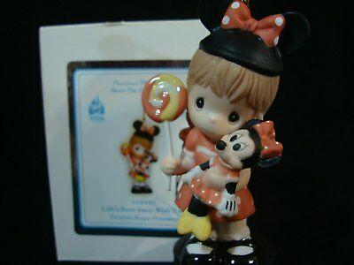 Precious Moments-Disney Theme Park Only Exclusive Ornament-Girl/Minnie Mouse