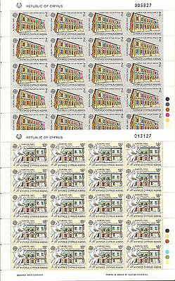 Cyprus Cyprus EUROPE cept 1990 Without Fijasellos MNH Sheets
