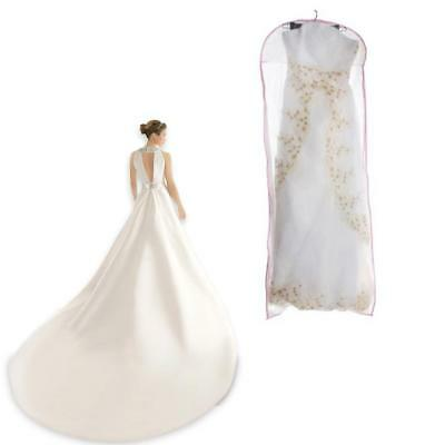 Large Breathable Garment Storage Bags Bridal Gown Wedding Dress Dust Cover Bag