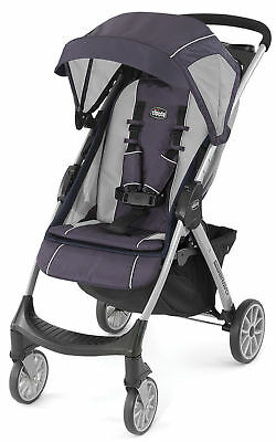 Chicco Mini Bravo Lightweight Quick Fold Baby Single Stroller Mulberry