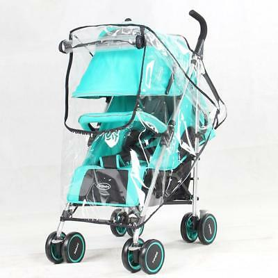 Universal Pushchair Buggy Rain Cover Baby Transparent Stroller Wind Shield