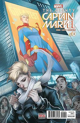 MIGHTY CAPTAIN MARVEL #0, New, First print, Marvel Comics (2016)