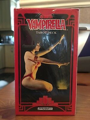 VAMPIRELLA TAROT CARDS SET, New, Sealed, Dynamite Entertainment (2018)