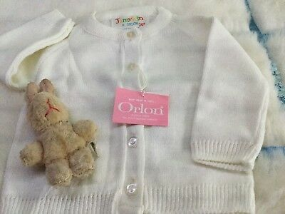AUTHENTIC VINTAGE 1970s UNUSED BABY BOYS/GIRLS CHILDRENS CARDIGAN 9/12 months