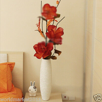 New Simple Glass Vase With Simulation Flowers Household Decoration H 49CM