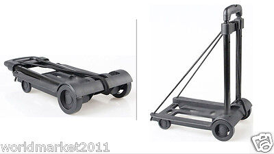 New Convenient Portable Mini Two Wheels Collapsible Shopping Luggage Trolleys