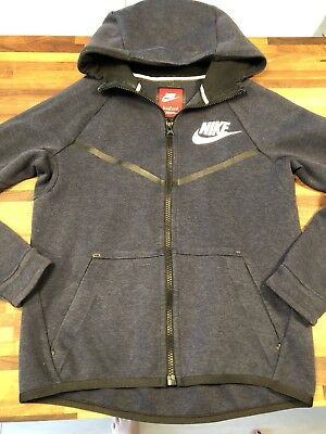 NIKE tech Navy Jacket Hoodie Age 10-12 Size Medium EXCELLENT COND
