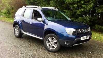 2015 Dacia Duster 1.5 dCi 110 Laureate Prime 5dr Manual Diesel Estate