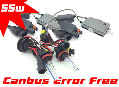 H11 H8 55W XENON HID GAS DISCHARGE CONVERSION KIT CANBUS For Mitsubishi L200 FOG