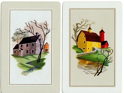 Playing cards swap cards single cottages