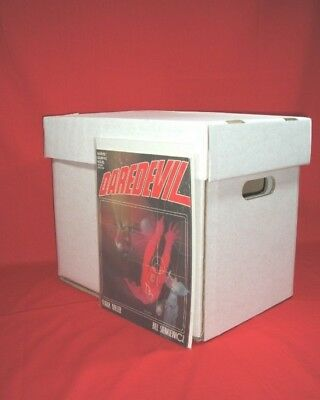 3 Magazine / 2000AD Size Comic Boxes - A4 Office Suitable