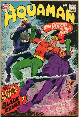 Aquaman #35 - VG - 1st Appearance Of Black Manta