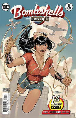 BOMBSHELLS UNITED #1, COVER A DODSON, New, First print, DC Comics (2017)