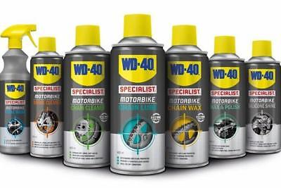 WD40 SPECIALIST Cleaning Kit 7 Piece for Motorbike Gift Idea