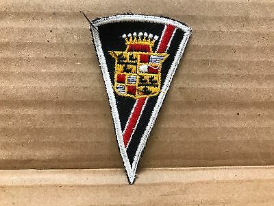 "Vintage Original 1950/60's Embroidered Cadillac Jacket Patch 3.5"" X 2"""