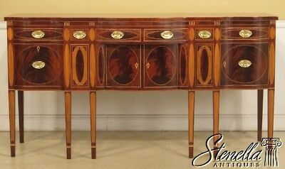 44282EC: KINDEL Winterthur Collection Inlaid Mahogany Sideboard