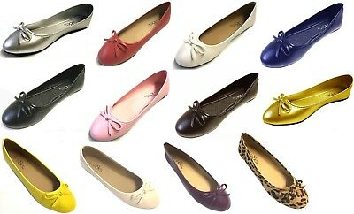 Shoes 18 Women's MicroSuede & PU Leather  Ballerina Ballet  Flat Shoes