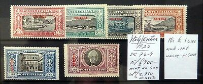 ERITREA on ITALY As Described Note 1L Inverted/WMK NC1643