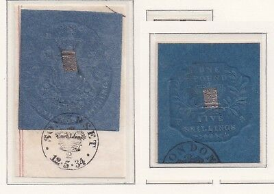 Lot:25313  GB QV    Revenues Cypher seals dated 12/5/34  other revenues