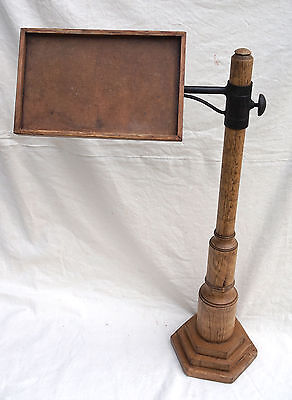 French Antique Merchandise Shirt Display Stand Oak 1880