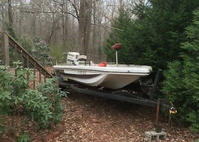 "1977 Ranger 18'6"" Bass Boat & Trailer - Georgia"