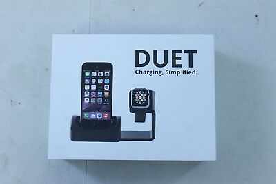 Antsy Labs DUET Charging Station/Dock for iPhone & Apple Watch (26531) D