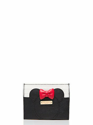Kate Spade Minnie Mouse Credit Card Change Holder Case Disney New Free Shipping
