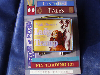 Disney * LADY & TRAMP - LUNCH TIME TALES * New on Card Hinged LE Pin
