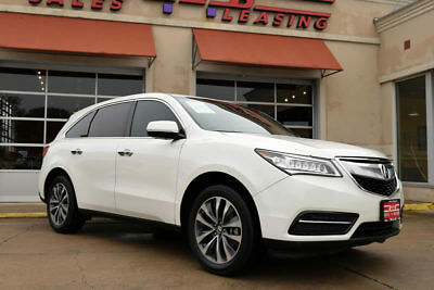 2015 Acura MDX Base Sport Utility 4-Door 2015 Acura MDX Tech, 1-Owner, Navigation, Leather, Moonroof, More!