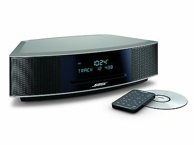 Bose Wave Music System IV with Remote, CD Player and AM/FM Radio-Platinum Silver