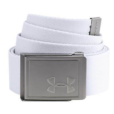 Under Armour Mens Webbing Belt Canvas Metal Buckle Bottle Opener Adjustable