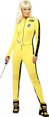 Kill Bill, The Bride Costume, Yellow, with Jumpsuit & Sword -  (Siz.. COST-W NEU