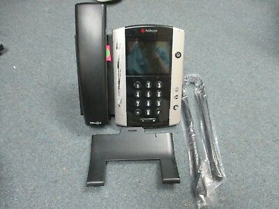 Polycom 2201-44500-001 VVX 500 VOIP IP Color Display Telephone W/ Stand - #G