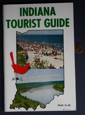 1963 Indiana Tourist Guide Booklet-Studebaker-Indy 500-Santa Claus-MORE-VINTAGE!