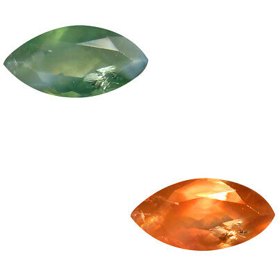 0.50 ct Marquise (8 x 4 mm) Un-Heated Color Change Alexandrite Natural Gemstone