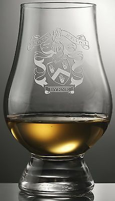 Clan Byrne Scotch Malt Whisky Glencairn Tasting Glass