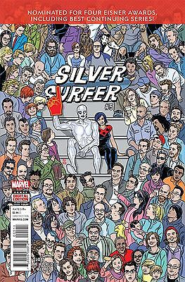 SILVER SURFER #5, New, First print, Marvel Comics (2016)