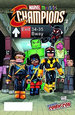 CHAMPIONS #1, NYCC MINIMATES VARIANT, New, First print, Marvel Comics (2016)