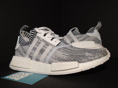b2f450b184704 Adidas Nmd R1 Pk Primeknit Glitch Camo Oreo White Core Black Grey Xr1 By1911  8