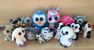 HUGE TY Beanie Boo Bundle ! Some Rare / Retired. Excellent Condition