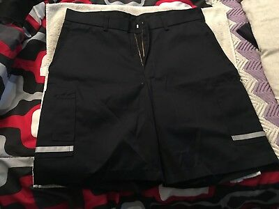 1 Pair Of Fedex Driver Shorts Size 36R Stan Herman Image Wear Reflectice