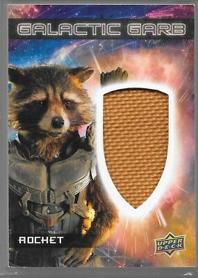 UD Guardians of the Galaxy Vol 2 Galactic Garb Costume Rocket SM-25