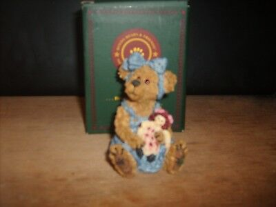 Boyds Bears Sally Quignapple w Annie Ole Friends Are Best # 227760 FIRST EDITION