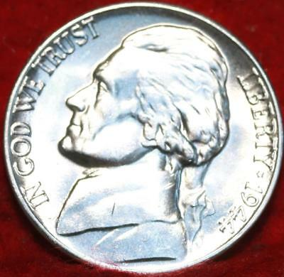 Uncirculated 1944-D Denver Mint Silver Jefferson Nickel