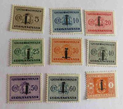 Italy Social Republic 1944 small collection Postage Due unused