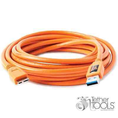 Tether Tools TetherPro USB 3.0 Male Type-A to USB 3.0 Micro-B Cable (4