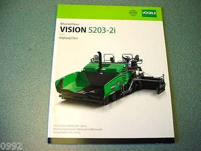 Vogele Super 5203-2i Tracked Paver Brochure